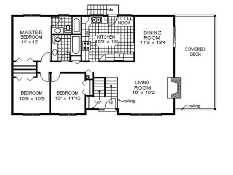 home design for rectangular plot house plan 58847 at familyhomeplans com