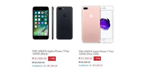 iphone 7 and 7 plus price at lazada philippines gizmo manila