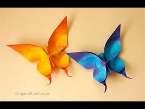 How To Make An Animal Out Of Paper - origami paper how to make origami butterfly origami