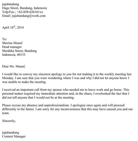 image contoh surat bisnis permohonan maaf bahasa inggris