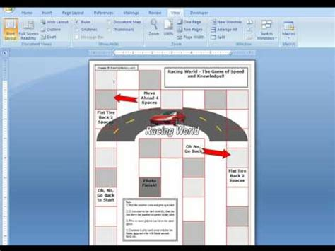 free templates for word games microsoft word game boards for teachers youtube
