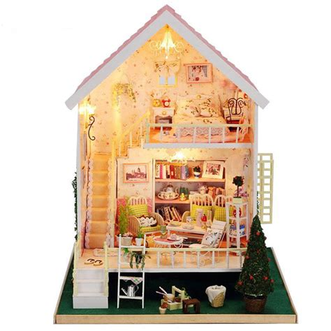 cheap wooden doll houses online get cheap wood doll house aliexpress com alibaba group