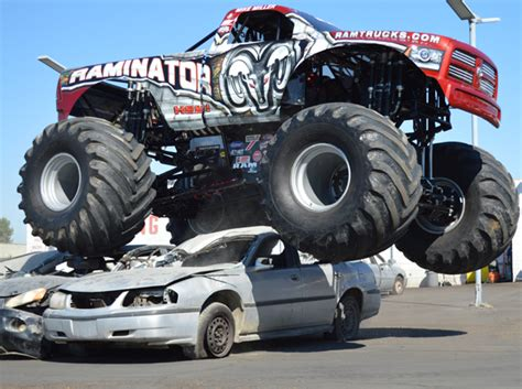 videos of monster trucks crushing cars make your move 17 next contest begins march the 24th get