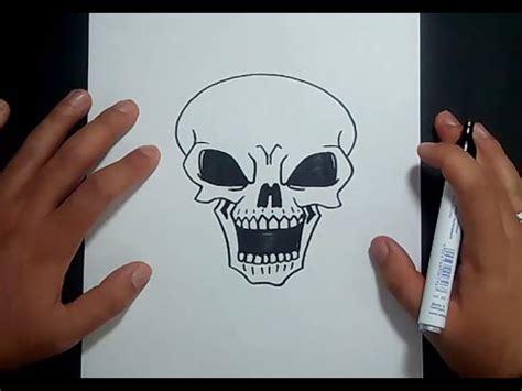 imagenes de una calavera sentada como dibujar una calavera paso a paso 12 how to draw a