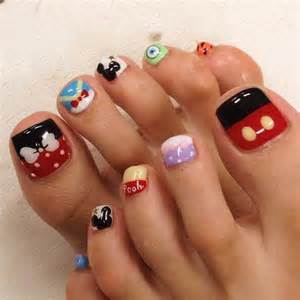 What You Need To Do Acrylic Nails At Home by Disney Toe Nail Art Dphim Net