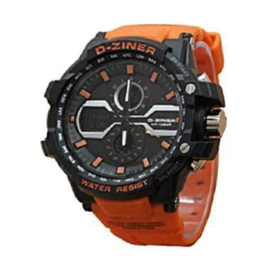 Jam Tangan Pria Wanita D Ziner Jjtm8025 Dualtime Original 3 jual d ziner d029 dual time jam tangan pria harga kualitas terjamin blibli