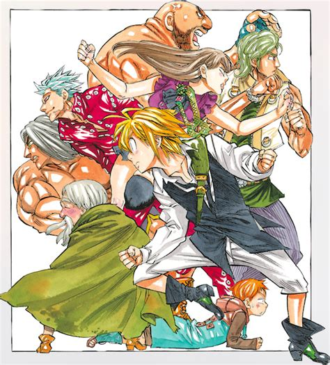 nakaba suzuki interview on the seven deadly sins