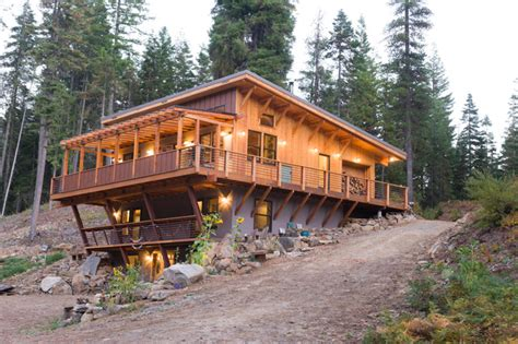 home design for off the grid off the grid house in the mountains rustic exterior