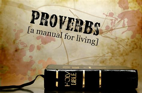 A Manual For Living the importance of proverbs 1 2 3 day trade
