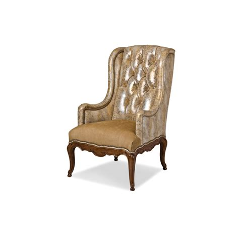 Furniture Lansing by Hancock And 5553 Lansing Tufted Wing Chair Discount