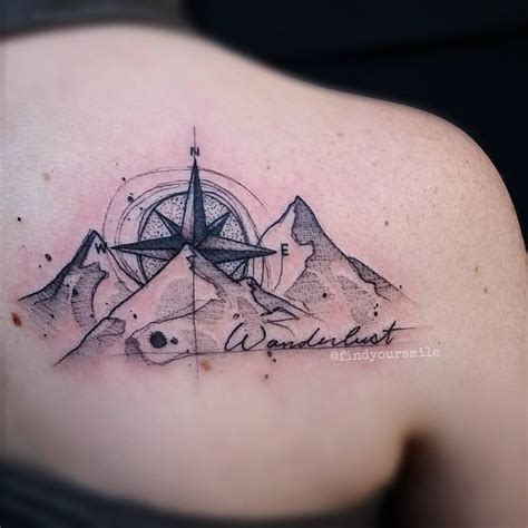 compass tattoo lettering 17 best images about tattoos on pinterest watercolors