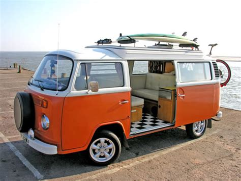 orange volkswagen van vw cer van ready for that road trip in 2 motorsports