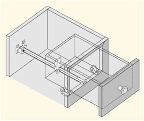 monorail drawer slide kit cabinet doors and refacing supplies monorail drawer slide kit