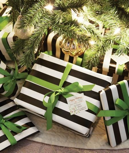 black and white striped gift wrap inspiration black white gift wrapping