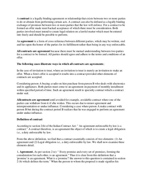 personal relationship contract template a contract is a legally binding agreement or relationship