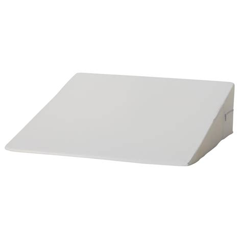foam bed wedge 6 63 in foam bed wedge in white 802 8026 1900 the home