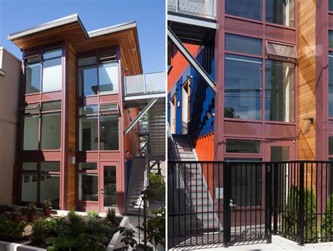 how to buy shipping containers for housing shipping container social housing project is a first for canada inhabitat green