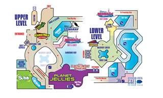 aquarium map ripley s aquarium of myrtle