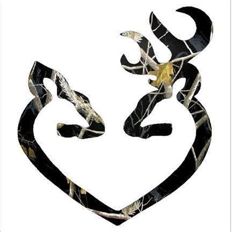 browning style buck realtree white browning style buck and doe realtree black camo