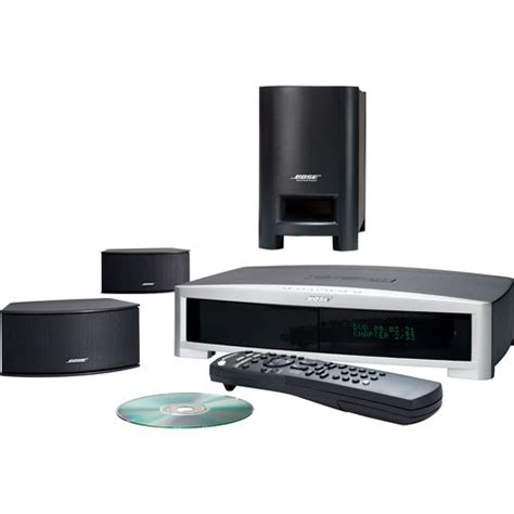 bose 3 2 1 gs series ii home theater system graphite