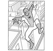 Coloriage Spiderman  Image A Prendre SpidermanSpiderman