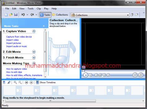 Tutorial Windows Movie Maker Portable | free software tips trick komputer tutorial windows