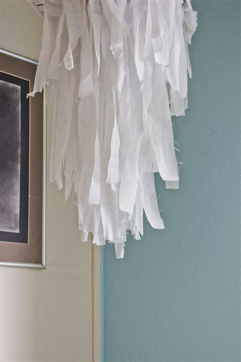 Fabric Chandelier Mox Fodder Fabric Chandelier Diy