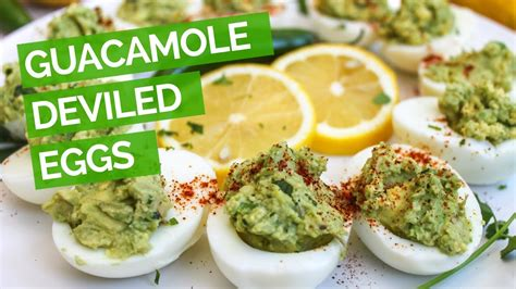 guacamole deviled egg recipe youtube