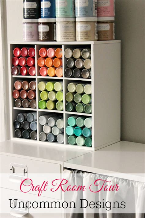 diy craft room storage 50 clever craft room organization ideas page 9 of 10