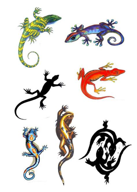 gecko tattoos designs 22 wonderful lizard designs