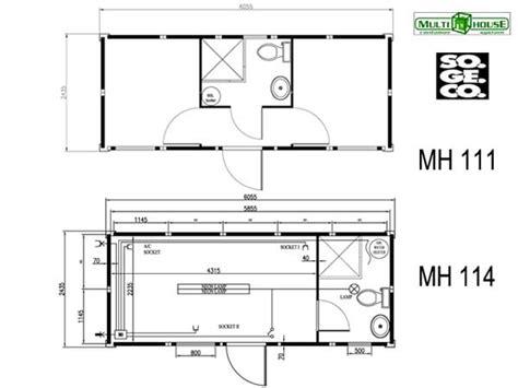 misure interne container vendita e noleggio container abitativi nuovi e usati sogeco