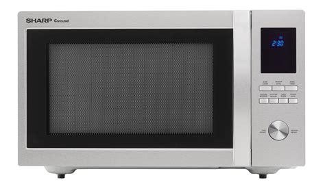 Cek Freezer Sharp smc1655bs 1 1 cu ft carousel microwave stainless steel