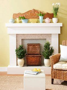 how to decorate empty space next to fireplace best 25 artificial fireplace ideas on pinterest wood