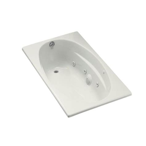 5 foot whirlpool bathtub kohler serif 5 ft reversible drain drop in acrylic