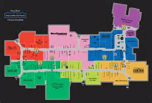 az mills mall directory map