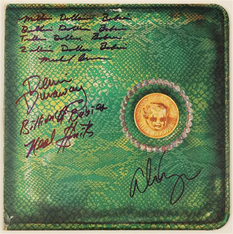 cooper billion dollar babies lot detail cooper band signed quot billion dollar