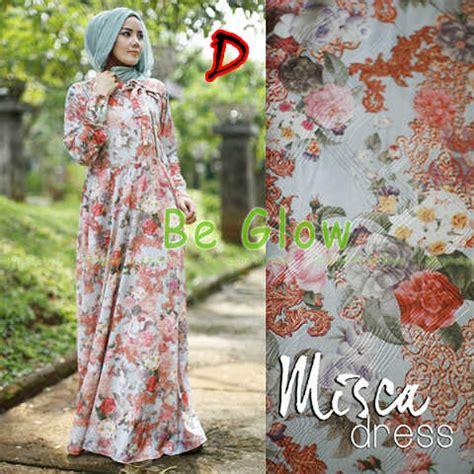 baju gamis misca dress by bee glow misca vol 2 d baju muslim gamis modern