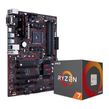 Amd Ryzen 7 1700 30 Socket Am4 asus prime b350 plus motherboard amd ryzen 7 1700 cpu