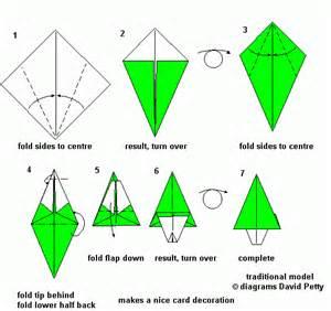 Origami mauro diagrammi modelli tradizionali