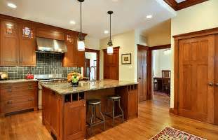 Craftsman Kitchen Design Decor Ideas For Craftsman Style Homes
