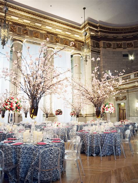 cherry blossom table centerpieces save