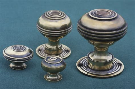 Different Door Knobs by Period Antique Door Knobs Four Different Types