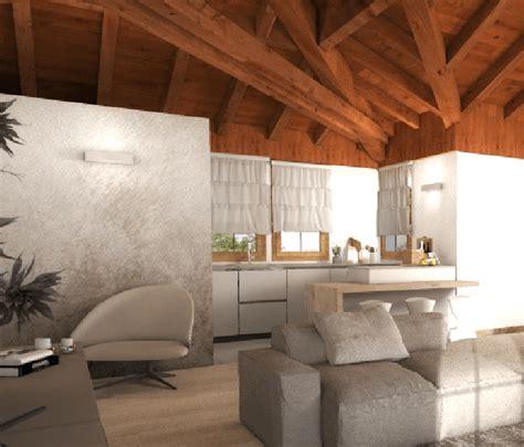 Cucina Per Mansarda by Progetto Per La Mansarda In 3d Con Orditura Tetto