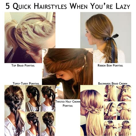 hairstyles for school lazy hillary hairstyles newhairstylesformen2014 com