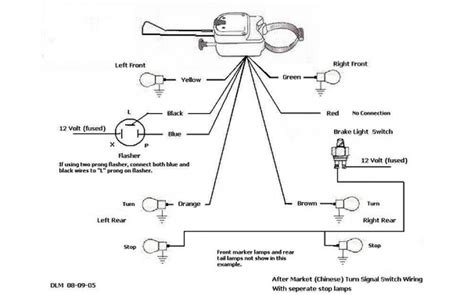 chevrolet turn signal wiring diagram