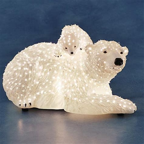 Light Up Polar Decoration by Konstsmide 4311 200 Indoor Led Fibre Optic Polar
