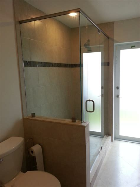 Glass Shower Doors Miami Shower Doors Frameless Shower Doors Miami Mirrors And Custom Glass