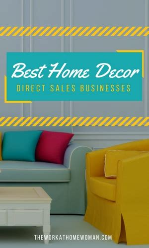 the best home decor direct sales businesses
