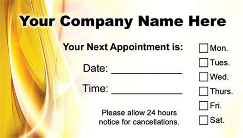 hair salon appointment card template hair salon appointment cards appointmentcardcentral