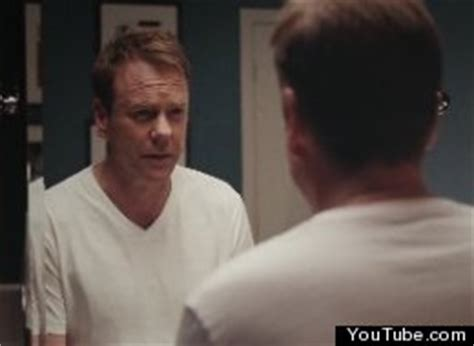 axe commercial voice actress kiefer sutherland s axe comercial actor jumps in spot